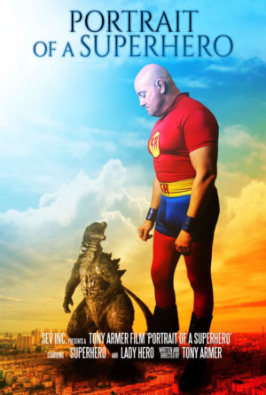 Portrait of a Superhero Poster