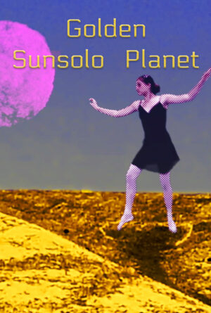 Golden Sunsolo Planet Poster
