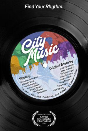 City Music Poster