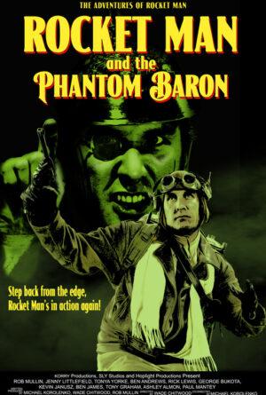 Rocket Man and the Phantom Baron Poster