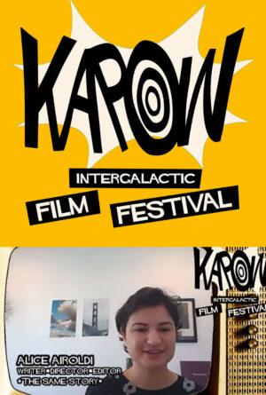 "KaPow IFF 2021 – Alice Airoldi – ""The Same Story"" Poster"